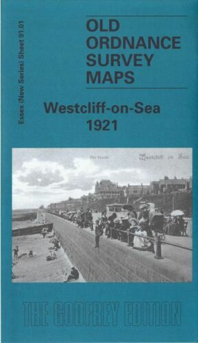 Westcliff on Sea 1921 - Essex Sheet 91.01