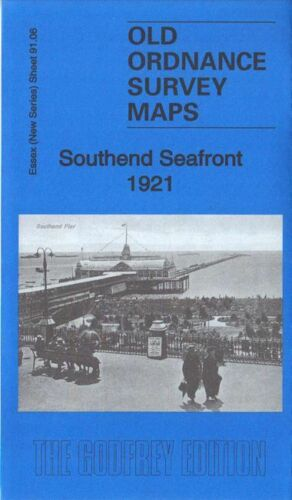 Southend Seafront 1921 - Essex Sheet 91.06
