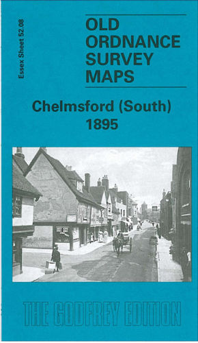 Chelmsford South 1895 - Essex Sheet 52.08