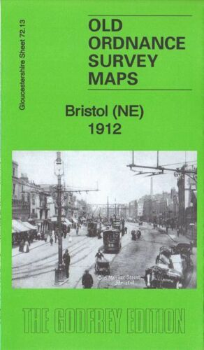 Bristol North East 1912 - Gloucestershire Sheet 72.13b