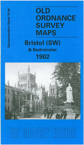 Bristol South West & Bedminster 1902 - Gloucestershire Sheet 75.04a