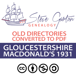 Macdonald's 1931 Directory of Gloucestershire Download