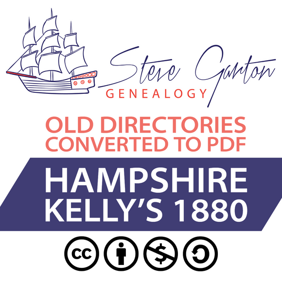 Kelly's 1880 Directory of Hampshire Download