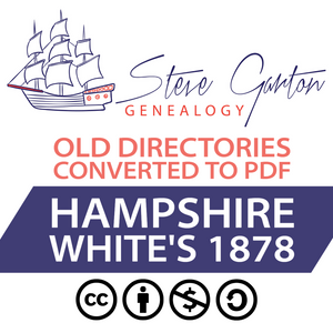 White's 1878 Directory of Hampshire Download