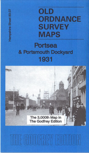 Portsea & Portsmouth Dockyard 1931- Hampshire Sheet 83.07c