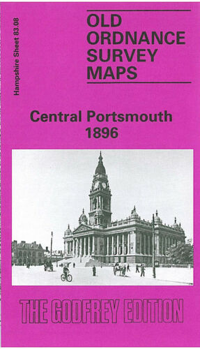 Central Portsmouth 1896 - Hampshire Sheet 83.08a
