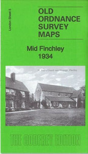 Mid Finchley 1934 - London Sheet 5c