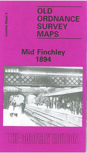 Mid Finchley 1894 - London Sheet 5a