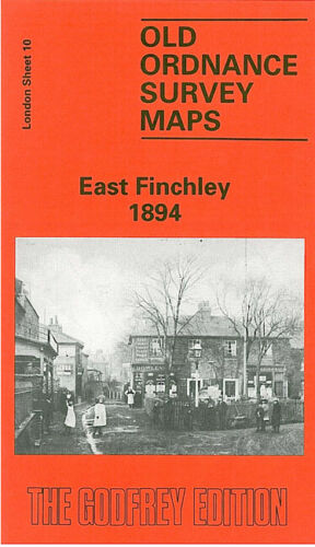 East Finchley 1894 - London Sheet 10a