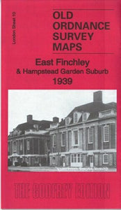 East Finchley 1939 - London Sheet 10c
