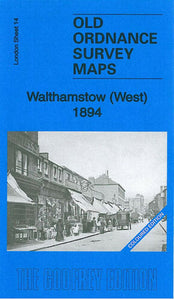 Walthamstow West 1894 - London Sheet 14a