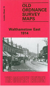Walthamstow East 1914 - London Sheet 15b