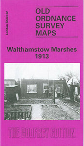 Walthamstow Marshes 1913 - London Sheet 22c
