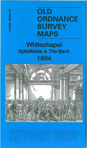 Whitechapel & Bank 1894 - London Sheet 63b