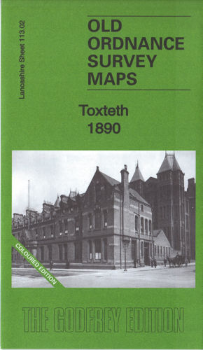 Toxteth 1890 Coloured Edition - Lancashire Sheet 113.02a
