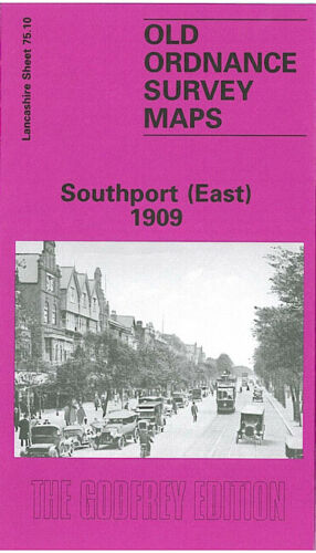 Southport East 1909 - Lancashire Sheet 75.10b