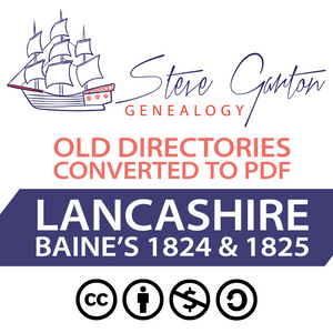Baine's 1824 & 1825 Directory of Lancashire Download