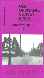 Leicester North East 1913 - Leicestershire Sheet 31.11b