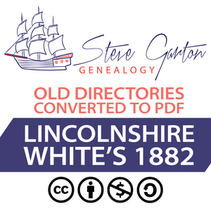 White's 1882 Directory of Lincolnshire Download