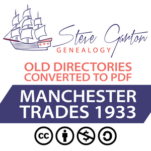 1933 Trades Directory of Manchester Download