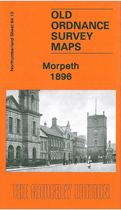 Morpeth 1896 - Northumberland Sheet 64.13