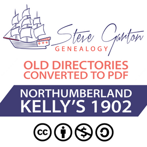 Kelly's 1902 Directory of Northumberland Download - SG Genealogy