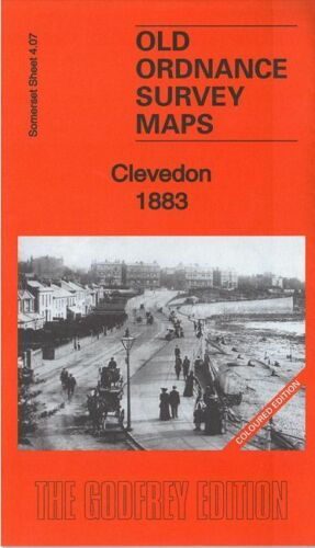 Clevedon 1883 Coloured Edition - Somerset Sheet 4.07a