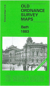 Bath 1883 Coloured Edition - Somerset Sheet 14.05a