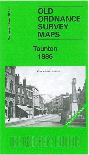 Taunton 1886 Coloured Edition - Somerset Sheet 70.12a