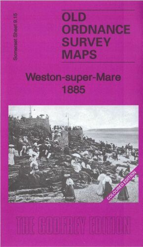 Weston Super Mare 1885 Coloured Edition - Somerset Sheet 9.15a