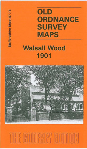 Walsall Wood 1901 - Staffordshire Sheet 57.16