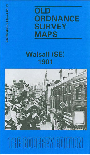 Walsall South East 1901 - Staffordshire Sheet 63.11