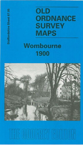 Wombourne 1900 - Staffordshire Sheet 67.05