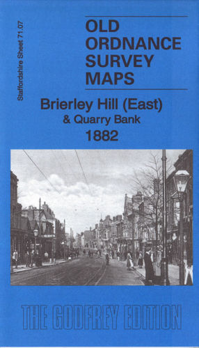 Brierley Hill East 1882 - Staffordshire Sheet 71.07a