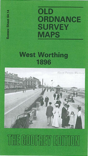 West Worthing 1896 - Sussex Sheet 64.14