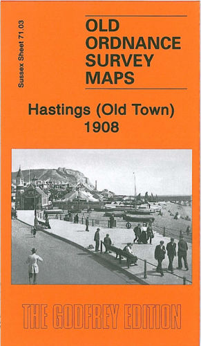 Hastings Old Town 1908 - Sussex Sheet 71.03
