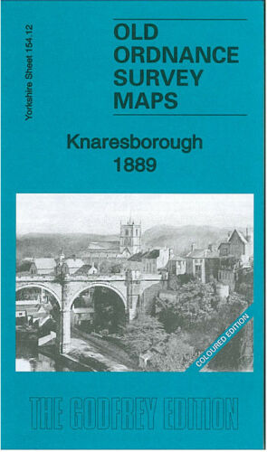 Knaresborough 1889 Coloured Edition - Yorkshire Sheet 154.12a