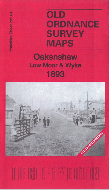 Oakenshaw, Low Moor & Wyke 1893 Coloured Edition - Yorkshire Sheet 231.04a