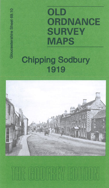 Chipping Sodbury 1919 - Gloucestershire Sheet 69.10