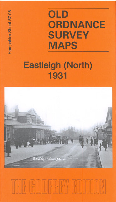 Eastleigh North 1931 - Hampshire Sheet 57.08b