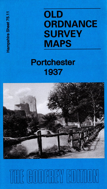 Portchester 1937 - Hampshire Sheet 75.11