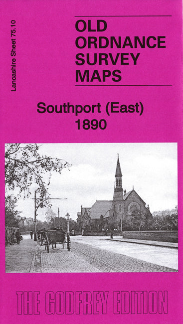 Southport East 1890 - Lancashire Sheet 75.10a