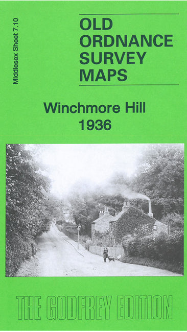 Winchmore Hill 1936 - Middlesex Sheet 7.10b