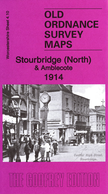 Stourbridge North & Amblecote 1914 - Worcestershire Sheet 4.10b