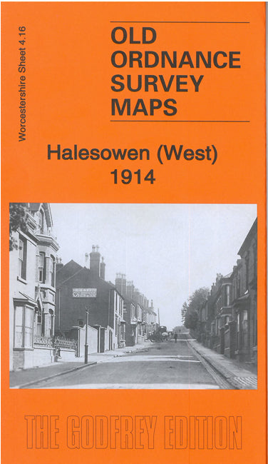 Halesowen West 1914 - Worcestershire Sheet 4.16b