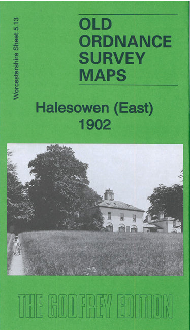 Halesowen East 1902 - Worcestershire Sheet 5.13a