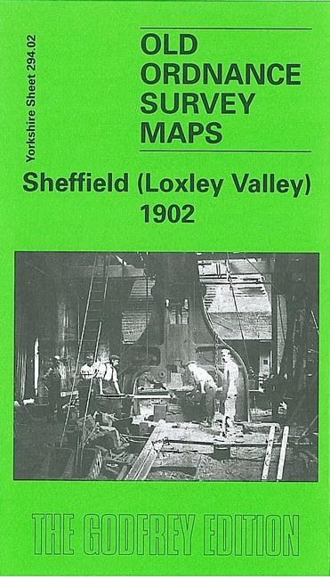 Sheffield Loxley Valley 1902 - Yorkshire Sheet 294.02