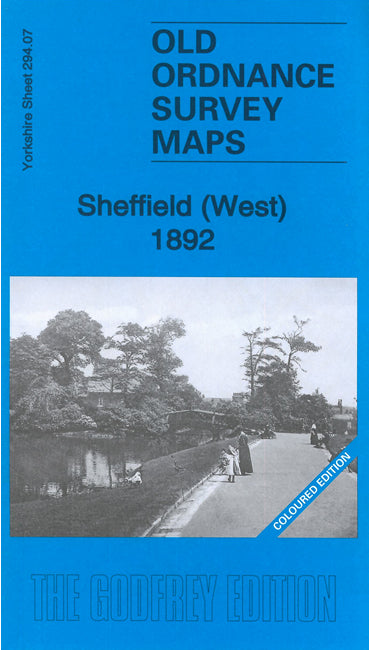 Sheffield West 1892 Coloured Edition - Yorkshire Sheet 294.07a