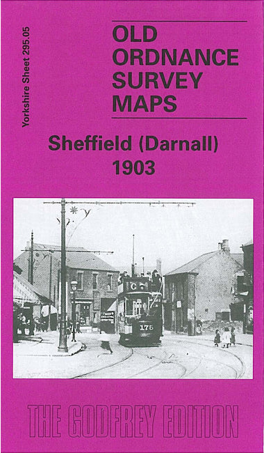 Sheffield Darnall 1903 - Yorkshire Sheet 295.05