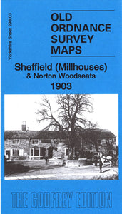 Sheffield Millhouses 1903 - Yorkshire Sheet 298.03
